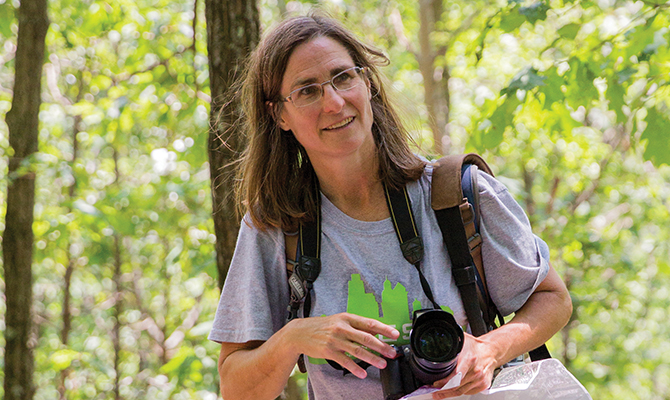 For this geologist, teaching in Penn's Master of Environmental Studies is a field day