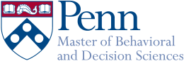 Master of Behavioral and Decision Sciences logo